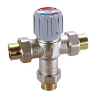 Photo of a Honeywell Mixing Valve