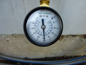 Dylan Chalk photo of water pressure guage